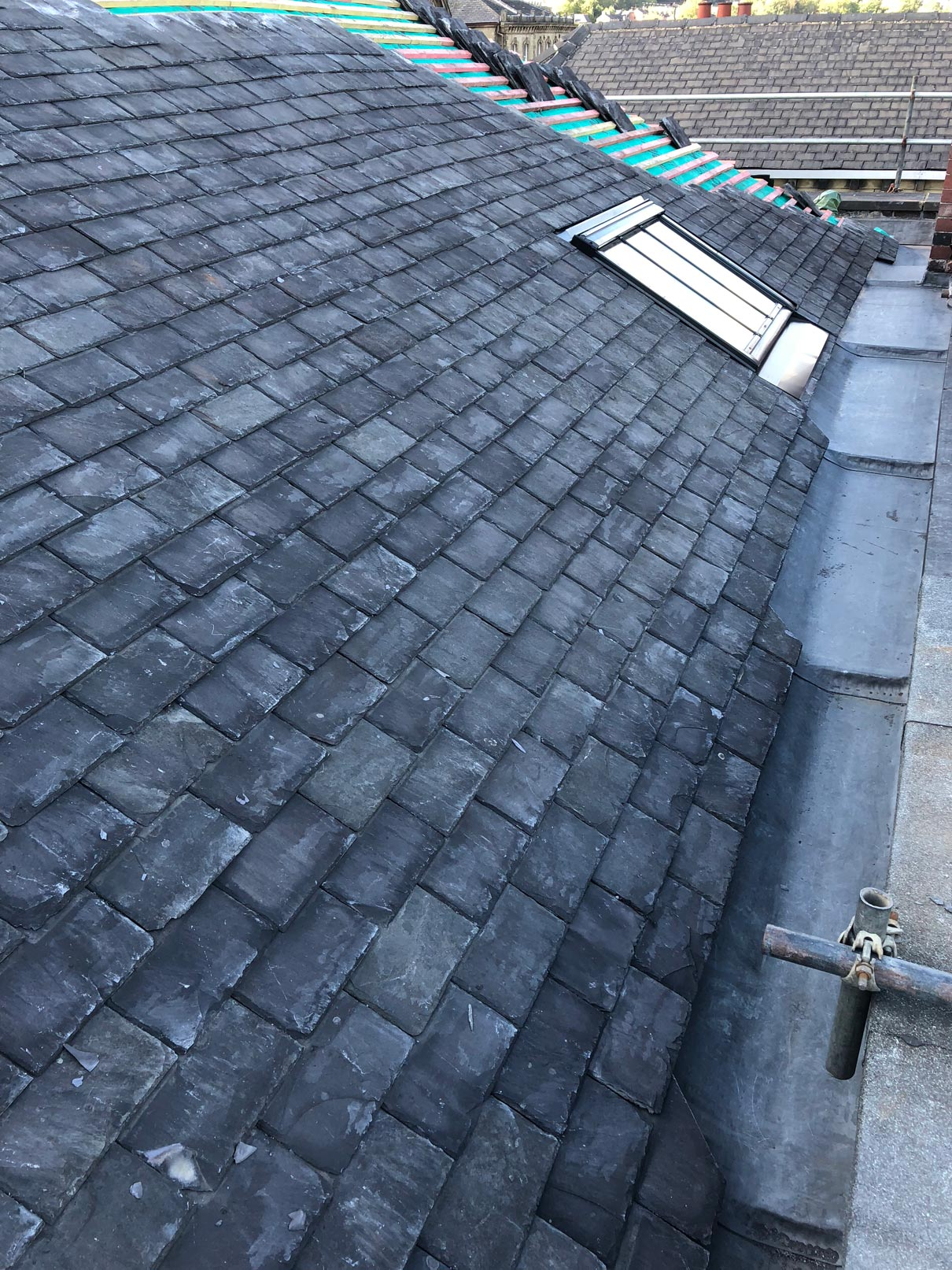 Slate and Tile Roofing MJB Roofing