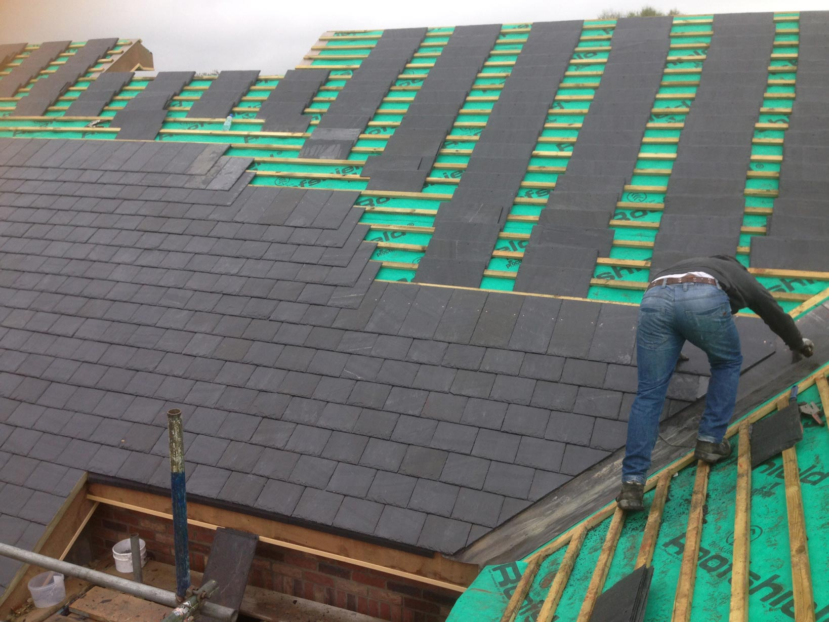 New Roofs MJB Roofing